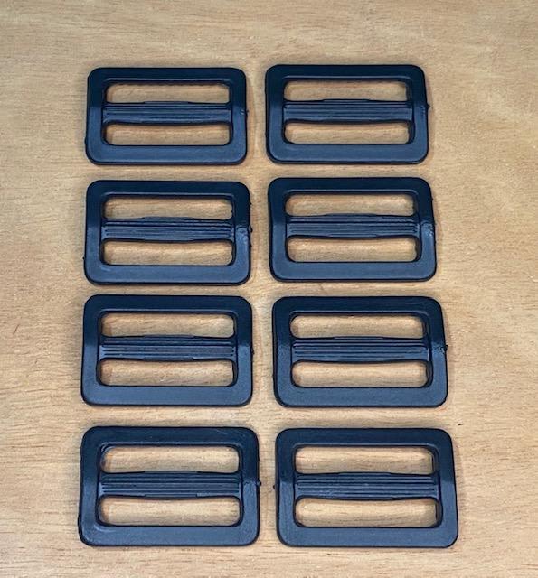 Regulador para Alça de Bolsa Plástico Preto 30mm   (0)