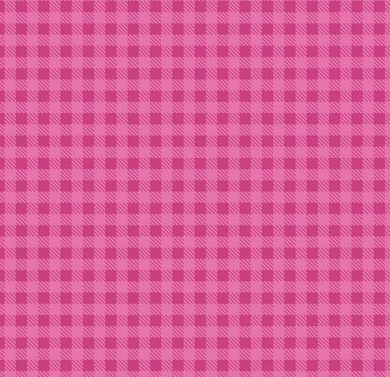 Tecido Nacional Coleção Xadrez Pink  (0)