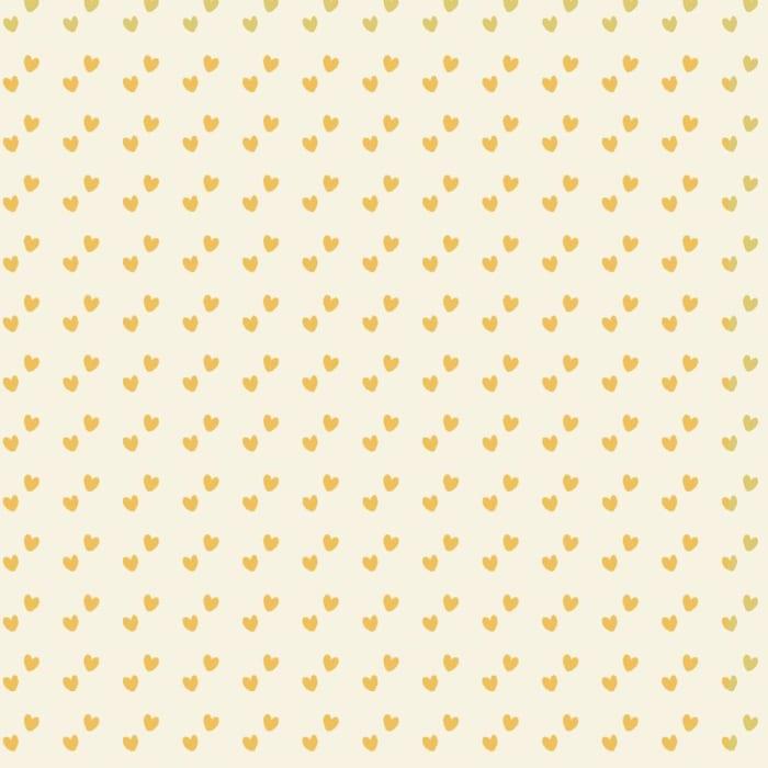 Tecido Nacional Coleção Mini Corações Amarelo (0)