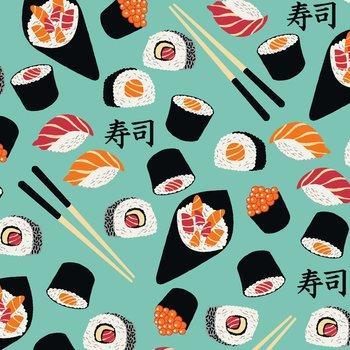 Tecido Nacional Coleção Sushi (0)