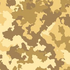 Tecido Nacional Coleção Camuflados Fabricart - Camuflado Deserto (0)
