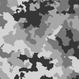 Tecido Nacional Coleção Camuflados Fabricart - Camuflado Neve (0)