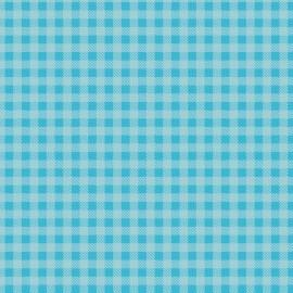Tecido Coleção Xadrez Azul Celeste Fabricart (0)