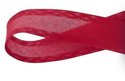 Viés de Algodão Vermelho 25mm Cinderela com 20 metros (0)