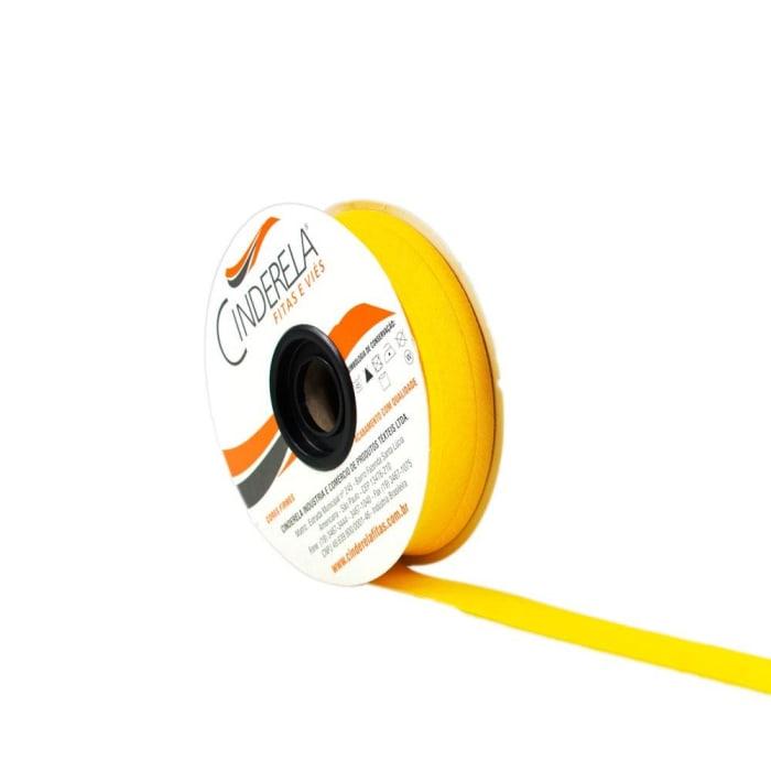 Viés de Algodão Amarelo Ouro 25mm Cinderela com 20 metros  (0)