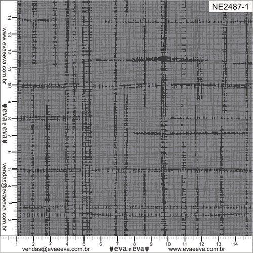 Tecido Nacional Coleção Neutro Tom Tom Cinza (0)