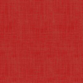 Tecido Nacional Coleção Textura Linho Vermelho Claro Fabricart (0)
