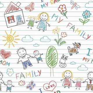 Tecido Nacional Coleção My Family Fabricart (0)