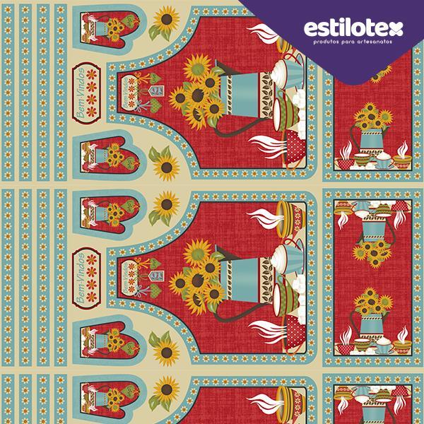 Tecido Nacional Coleção Avental Country Estilotex (0)