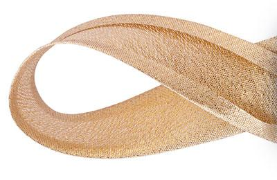Viés Lurex Dourado 25mm Cinderela com 20 metros    (0)