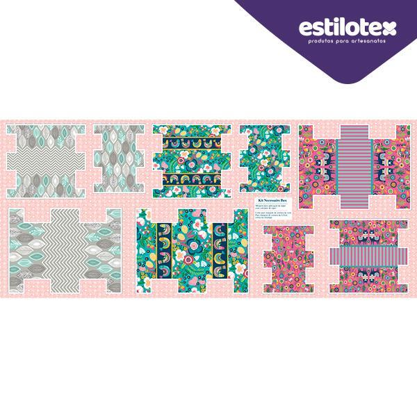 Tecido Nacional Coleção Kit Necessaire Box Estilotex Por Bia Feltz  (0)