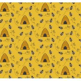 Tecido Nacional Coleção Bee Buzz Fabricart (0)