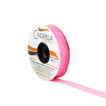 Viés de Algodão Rosa Fluor 25mm Cinderela com 20 metros   (0)