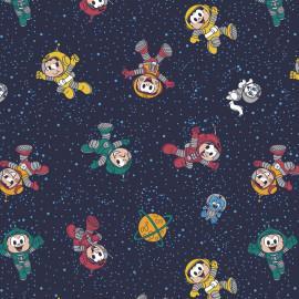 Tecido Coleção Turma da Mônica Astronautas (0)