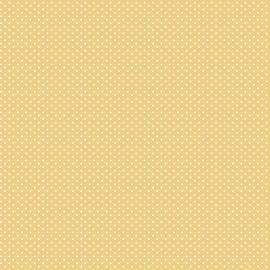 Tecido Nacional Coleção Micro Poa Amarelo Queimado Fabricart (0)