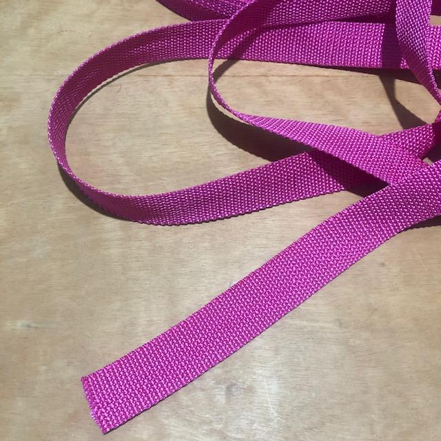 Alça de Poliéster para Bolsas Pink (0)