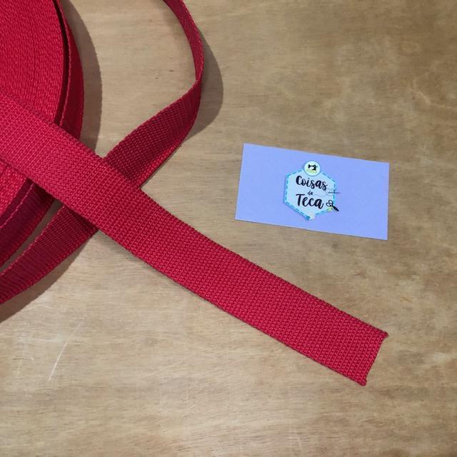 Alça de Poliéster para Bolsas - Vermelha (0)