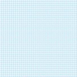 Tecido Nacional Coleção Pied de Poule Azul Claro (0)
