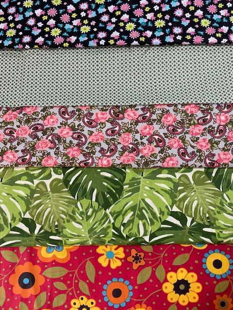 Kit de Tecidos Florzinhas (0)