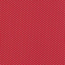 Tecido Nacional Coleção Poa Vermelho (0)