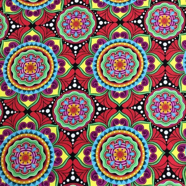 Tecido Digital Mandalas (0)
