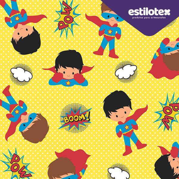 Tecido Nacional Coleção Super Boy (0)