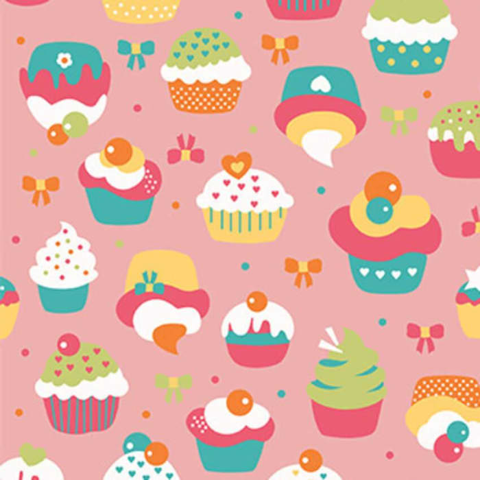 Tecido Nacional Cupcake (0)
