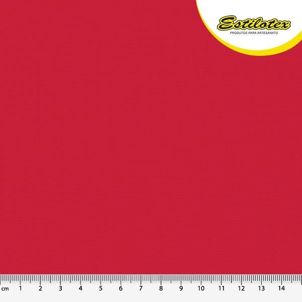 Tecido Nacional Coleção Neutro Liso Vermelho (0)