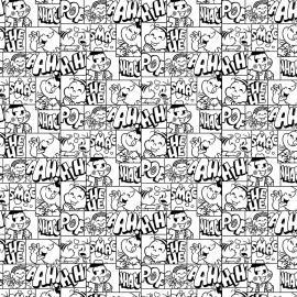 Tecido Nacional Coleção Turma da Mônica Quadrinhos (0)