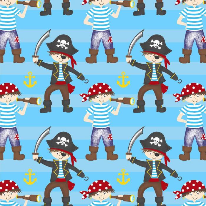 Tecido Nacional Coleção Piratas  (0)