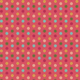 Tecido Coleção Poas Multicolor  (0)