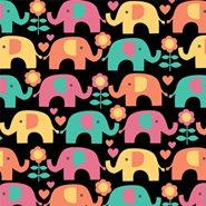 Tecido Nacional Coleção Passo do Elefantinho (0)