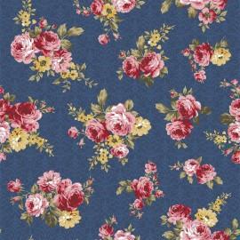 Tecido Nacional Coleção Floral Arabesque Fabricart  (0)