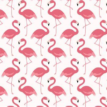 Tecido Nacional Coleção Flamingo Fundo Claro (0)