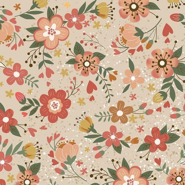 Tecido Nacional Digital Coleção Viva La Vida Floral Country
