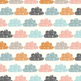 Tecido Nacional Coleção Nuvem Colors Fabricart