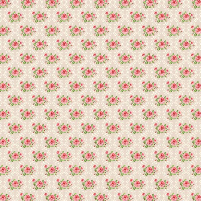 4913 - Rosinhas na Moldura Damask Creme-1000x1000