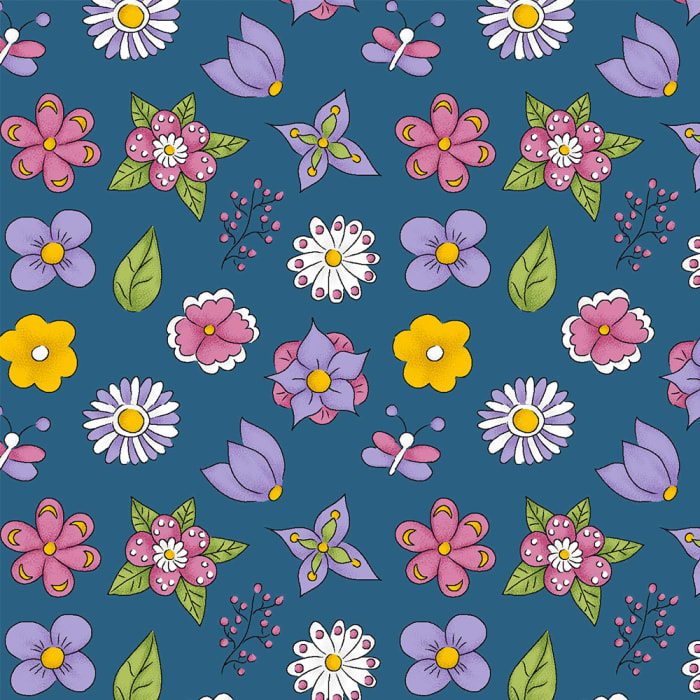12706 - Mini Flower Azul-1000x1000